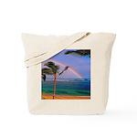 Hawaiian double rainbow Tote Bag