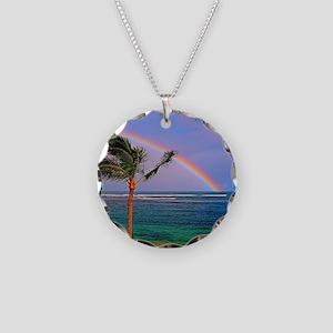 Hawaiian double rainbow Necklace