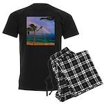 Hawaiian double rainbow Pajamas