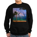 Hawaiian double rainbow Sweatshirt
