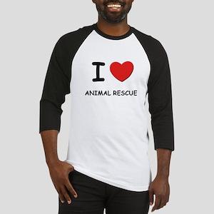 I love animal rescue Baseball Jersey