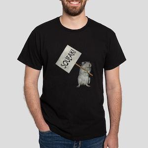 Protesting Gerbil Dark T-Shirt