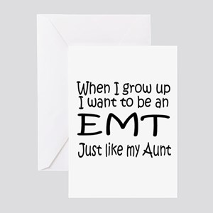 WIGU EMT Aunt Greeting Cards (Pk of 10)