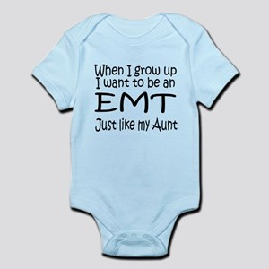 WIGU EMT Aunt Infant Bodysuit
