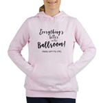 Better in the Ballroom Women's Hooded Sweatshirt