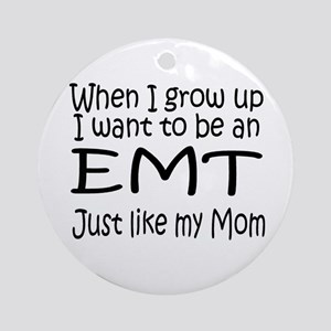 WIGU EMT Mom Ornament (Round)