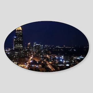 Atlanta Georgia Night Sticker