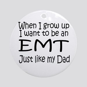 WIGU EMT Dad Ornament (Round)