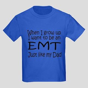 WIGU EMT Dad Kids Dark T-Shirt