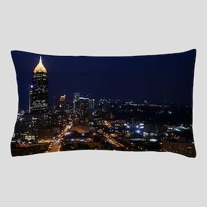 Atlanta Georgia Night Pillow Case