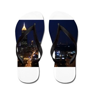 1097c1b91bac Atlanta Georgia Flip Flops - CafePress
