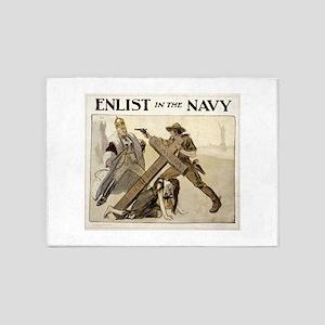 enlist in the navy - louis raemaekers - 1917 - pos