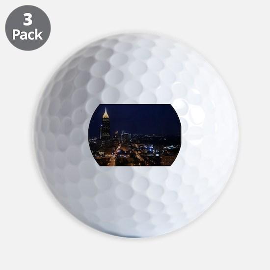 Atlanta Georgia Night Golf Ball