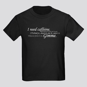 Caffeine Frenzy Kids Dark T-Shirt
