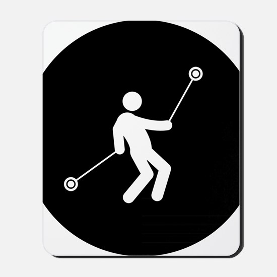 Yoyo-Player-AAB1 Mousepad