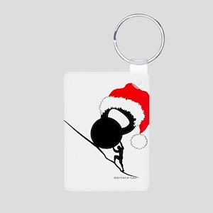 Sisyphus Kettlebell Christmas Keychains