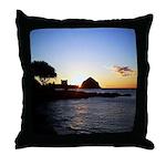 Hawaiian sunset scenes Throw Pillow