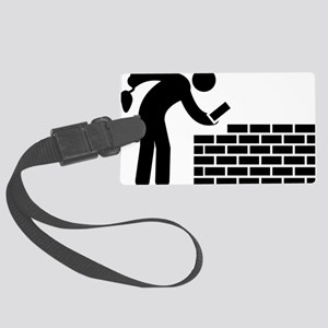 Bricklayer-AAA1 Large Luggage Tag