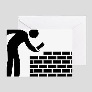 Bricklayer-AAA1 Greeting Card