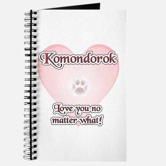 Komondor Love U Journal