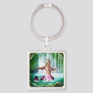 pm_kids_all_over_828_H_F Square Keychain