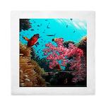tropical hawaiian reef fish Queen Duvet