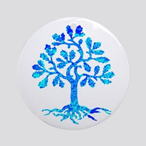 TREE Round Ornament