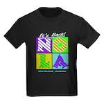 I love New Orleans Kids Dark T-Shirt