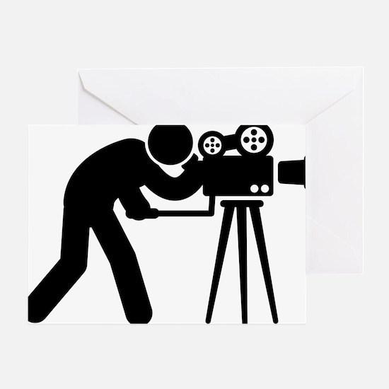 Cameraman-AAA1 Greeting Card