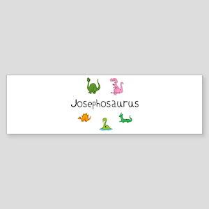 Josephosaurus Bumper Sticker