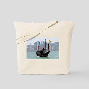 Chinese junk, Hong Kong 2 Tote Bag