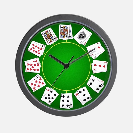 Texas Holdem pocket pairs clock