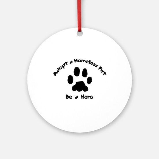 Adopt a Pet Ornament (Round)