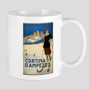 cortina dampezzo - anonymous - circa 1920 - poster