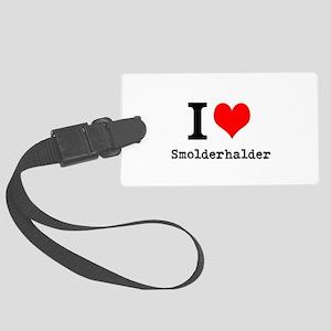 I love Smolderhalder Luggage Tag