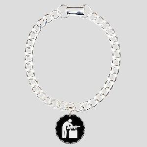 Gunsmith-AAB1 Charm Bracelet, One Charm
