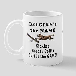 Belgians Kick Butt- Agility H Mug