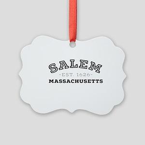 Salem Massachusetts Picture Ornament