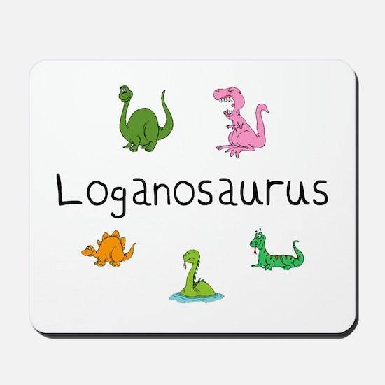 Loganosaurus Mousepad
