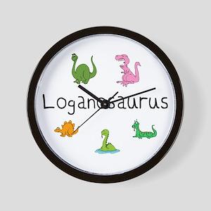 Loganosaurus Wall Clock