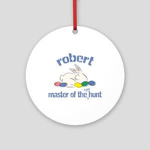 Easter Egg Hunt - Robert Ornament (Round)