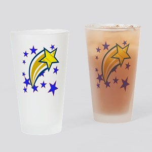 i just saw a shooting star! Drinking Glass