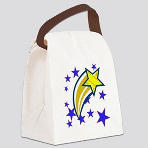 i just saw a shooting star! Canvas Lunch Bag