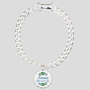 Nannies to Love Charm Bracelet, One Charm