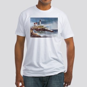 Nubble Light House Fitted T-Shirt