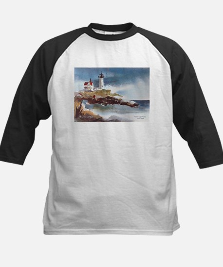 Nubble Light House Kids Baseball Jersey