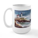 Nubble Light House Large Mug