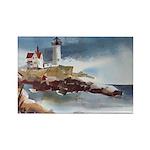 Nubble Light House Rectangle Magnet (10 pack)
