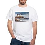 Nubble Light House White T-Shirt