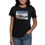 Nubble Light House Women's Dark T-Shirt